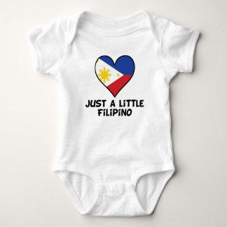 Just A Little Filipino Baby Bodysuit