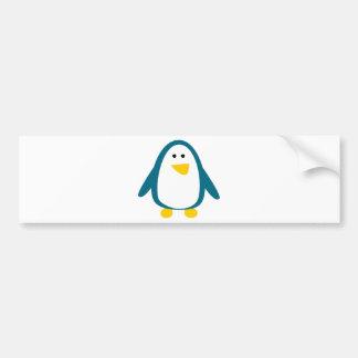 Just a Little Penguin Car Bumper Sticker