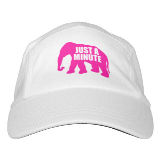 Just a minute. Pink Elephant Hat