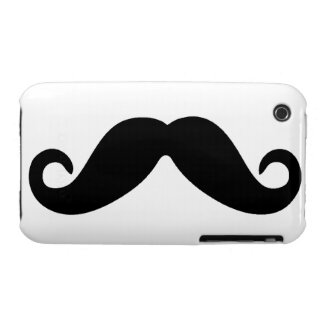 Just A Mustache iPhone case