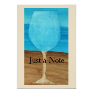 Just a Note Card