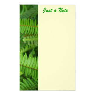 Just a Note Stationery Design