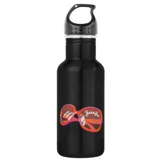 Just A Pair Of Glasses - Monogrammed - 3 532 Ml Water Bottle