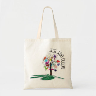 Just Add Color Tote Budget Tote Bag