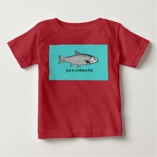 Just an Ordinary Fish Baby Fine Jersey T-Shirt