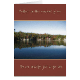 Just As You Are  (For Woman) Card