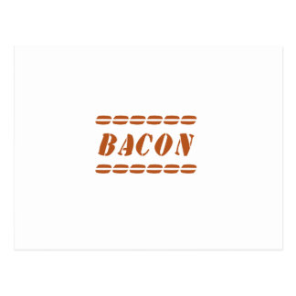 Just Bacon Post Card