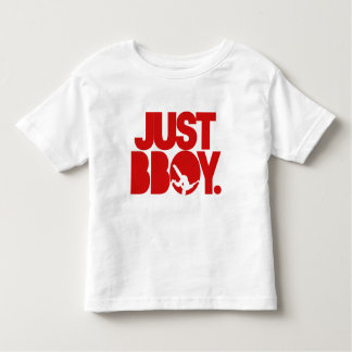 just bboy - red t shirts