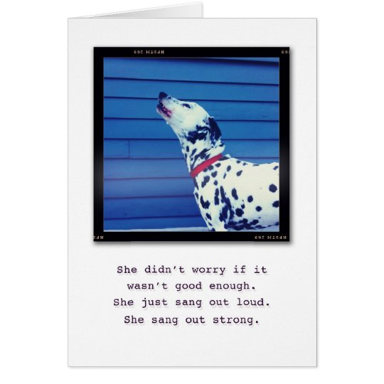 Just be You. Card