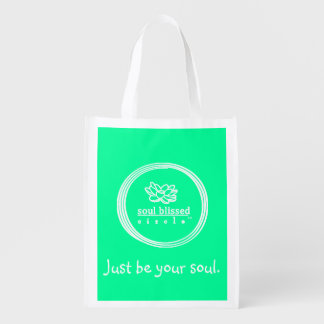 Just be your soul. Reusuable Bag