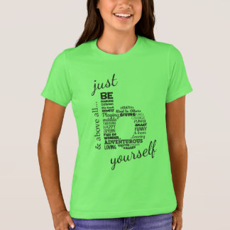 Just Be Yourself_Kids T-Shirt