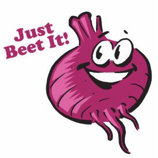 Just Beat Beet It Thats Beet Standing Photo Sculpture