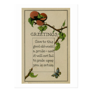 Just Because Greeting Card (1916)