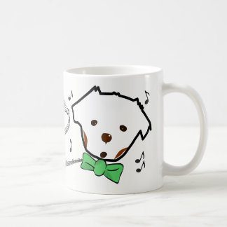 Just because I cant sing, puppy mug