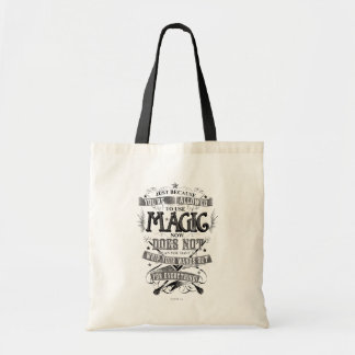 Just Because You're Allowed To Use Magic... Budget Tote Bag