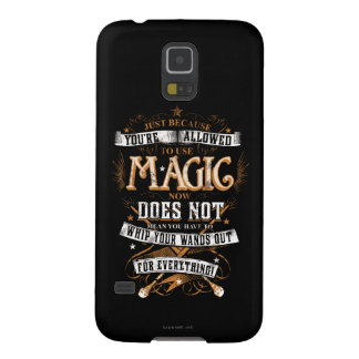 Just Because You're Allowed To Use Magic... Cases For Galaxy S5