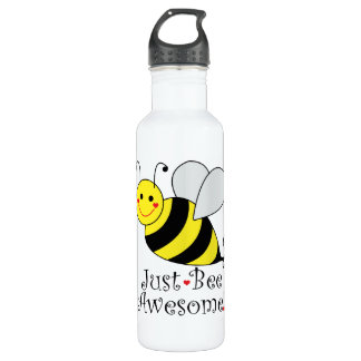 Just Bee Awesome Bumble Bee 710 Ml Water Bottle