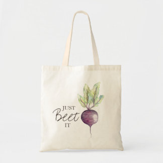 Just Beet It | Watercolor Bag