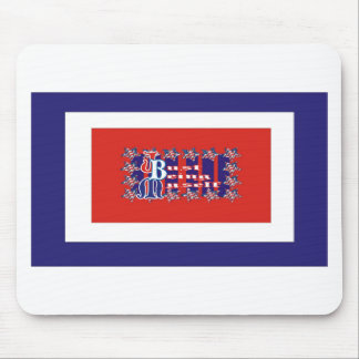 Just Being Myself American Mouse Pad