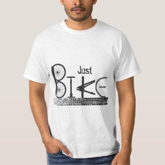 """""""Just Bike"""" Graffiti from Bike Parts & Tire Tracks T-Shirt"""