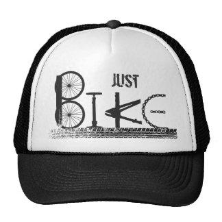 Just Bike Parts Word Graffiti Urban Design Cap