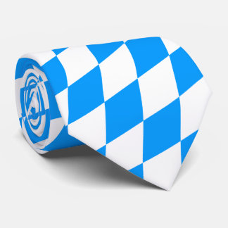 Just blue and white, Bavarian pure. Tie