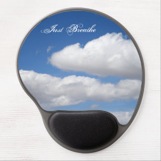 Just Breathe Beautiful Clouds Gel Mouse Pad