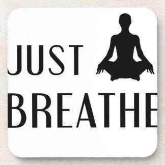 just Breathe Coaster
