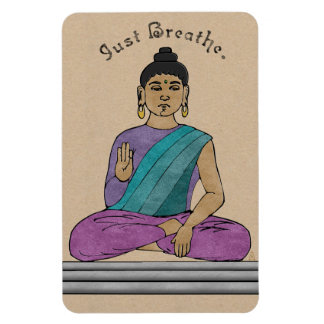 Just Breathe (flexible magnet) Magnet