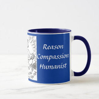 Just Breathe...Humanist coffee mug
