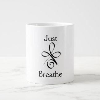 Just Breathe Large Coffee Mug