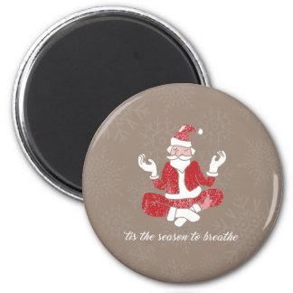 Just Breathe Standard, 2¼ Inch Round Magnet