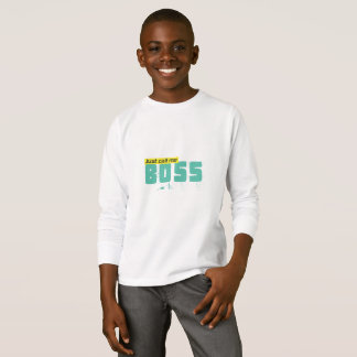 Just call me boss Kids' Basic Long Sleeve T-Shirt