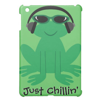Just Chillin' Frog With Heads & Shades iPad Mini Case
