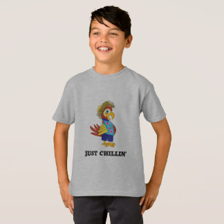 Just Chillin' Island Parrot T-Shirt