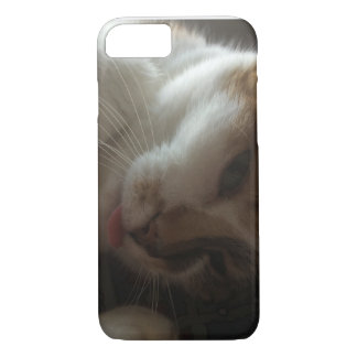 Just Chillin With My Tongue Out iPhone 8/7 Case