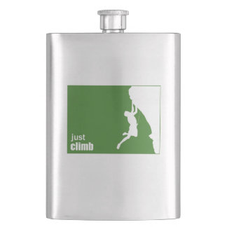 Just Climb Hip Flask