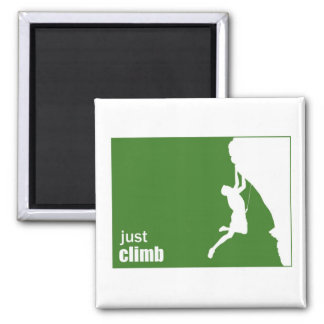 Just Climb Square Magnet