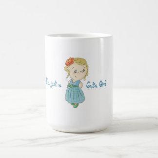 Just cute (summery) girl coffee mug