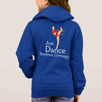 Just Dance Girls Rhythmic Gymnastics Fleece Jacket