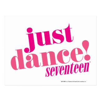 Just Dance - Pink Postcard