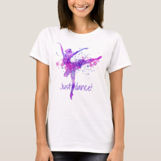 Just Dance Purple and Pink Ballet T-Shirt