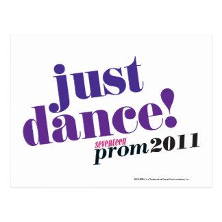 Just Dance - Purple Postcard