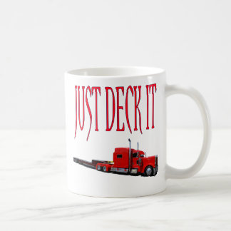 Just Deck It Coffee Mug