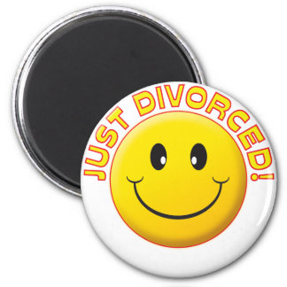 Just Divorced Smile Magnet
