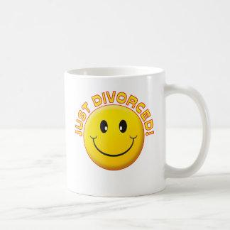 Just Divorced Smile Mugs