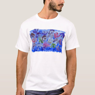 Just Dolphins Sugar Paint Stamping T-Shirt