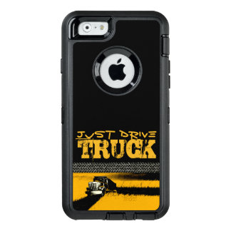 JUST DRIVE Truck: YELLOW OtterBox iPhone 6/6s Case