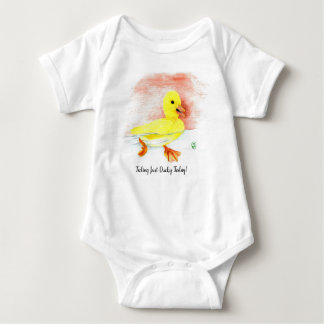 """Just Ducky"" Baby Bodysuit"