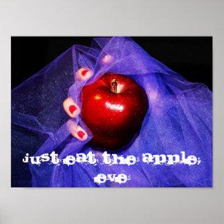 Just Eat the Apple, Eve, Just eat the apple, Eve Poster